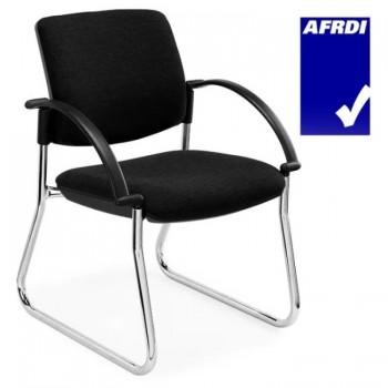 Back Sled Frame Visitor Chair
