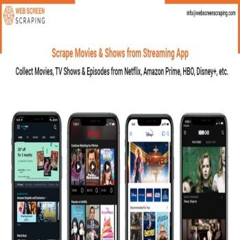 Streaming App Data Scraping in Australia