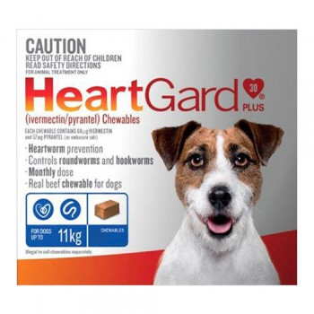 Buy Heargard Plus Chew for Small, Medium and Large Dogs - A Heartworm Preventive