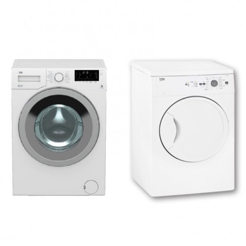Beko Laundry Package Washer and Dryer