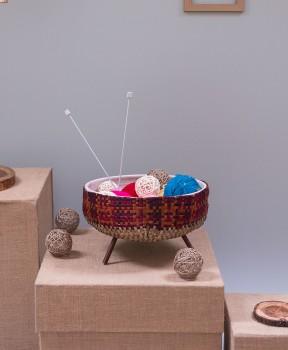 Braided Ceramic Bowl