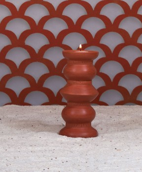 Kutch Tall Candle Stand