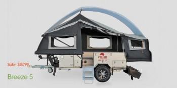 Forward Folding Camper Trailer