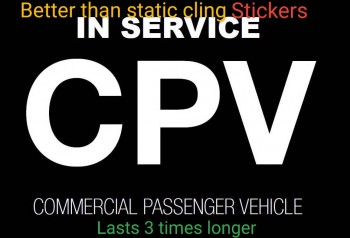 Uber ola Didi rideshare CPV magnet stick