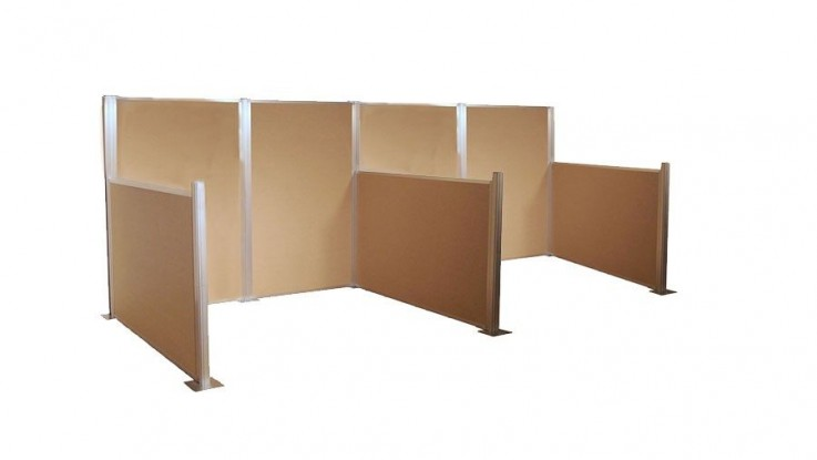 HushPanel Modular Cubicle Partition Syst