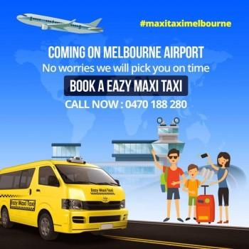 Book Melbourne Airport Maxi Taxi | Book A Taxi To Melbourne Airport