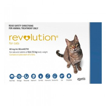 Buy Revolution for Cats- Flea, Ticks and