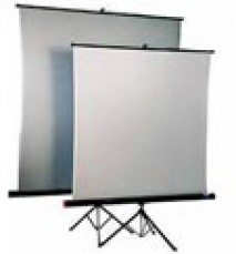 Tripod Projector Screen 1.8 m x 1.8 m