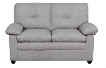 BRAND NEW FABRIC 2 SEATER LOUNGE