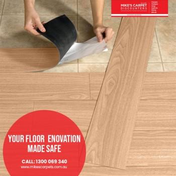 The all new generation of vinyl flooring