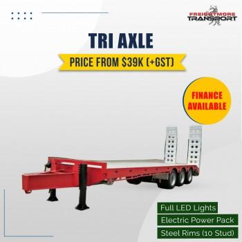 Tri Axle Tag Trailer For Sale