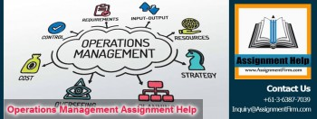 Student trust on Operations Management Assignment Help