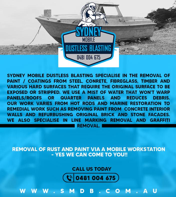 Attain the Best Professional Boat Sandblasting Support