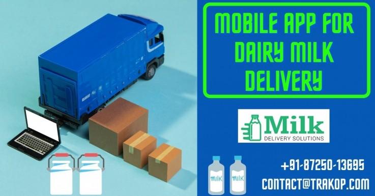 Milk delivery ap ...