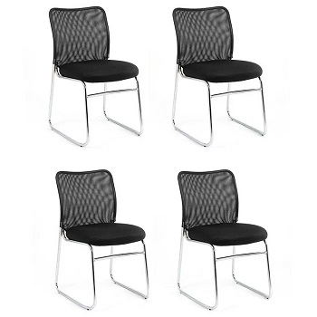 SET OF 4 SOURCE VISITOR CHAIRS