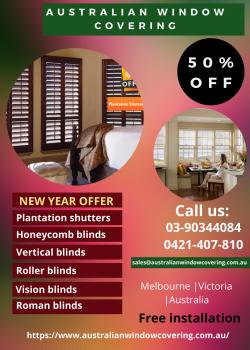 Vision blinds summer offer
