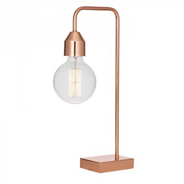 Ava Table Lamp Copper