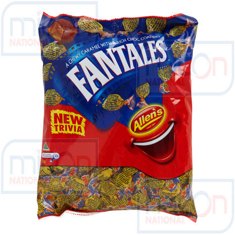 Allens's Fantales 1kg Individually Wrapp