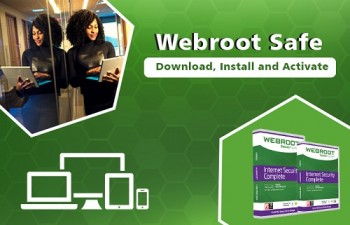 Webroot.com/safe - Enter Product Code
