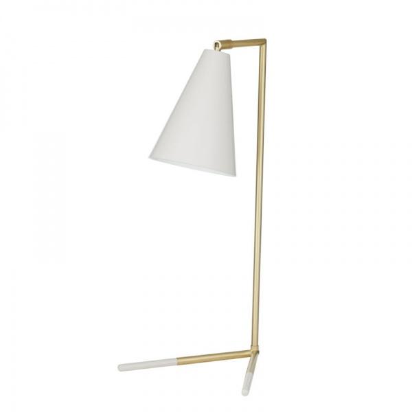 Chicago Desk Lamp -Brushed Brass