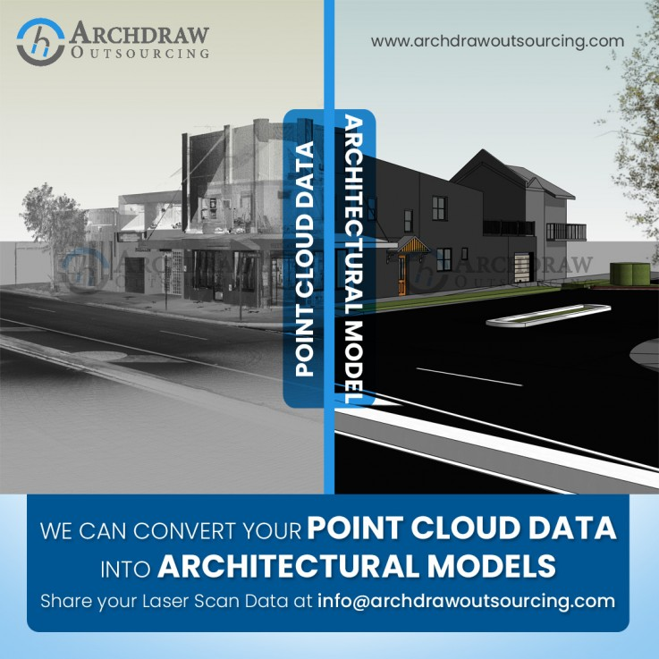 Laser Scan Data to Architectural Modeling