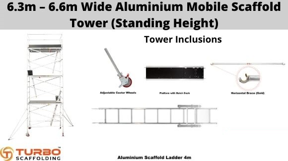 Buy High-Quality & Reliable Aluminium Mobile Scaffolding
