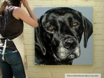 Buy Beautiful Dog Portrait Painting