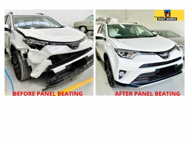 Professional car panel repair in Melbourne