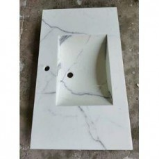 White Nano Artificial Countertop9