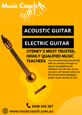 Best Guitar Lessons in Sydney