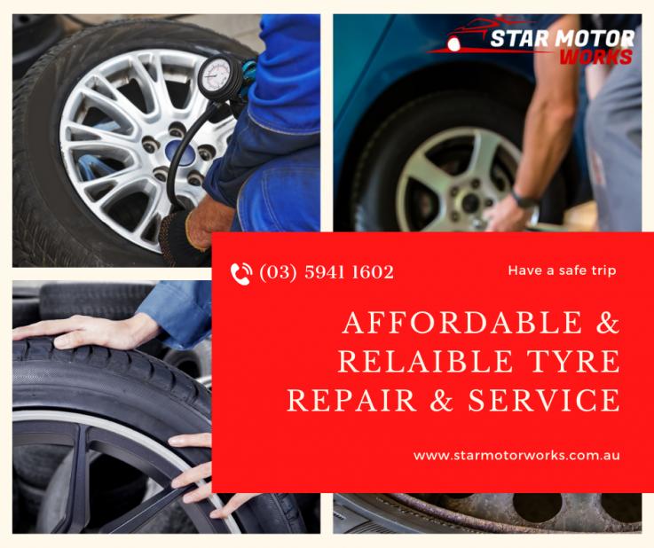 Quality Tyres Repair in Pakenham - Star Motorworks