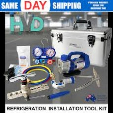 Air con Tool Kit With Vacuum Pump