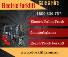 Electric Forklift Hire - Sale in Perth &