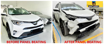 Professional car smash repair service in Hawthorn