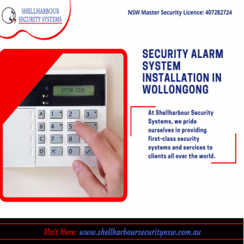 Alarm System Installation in wollongong