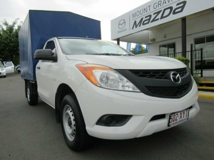 2013 MAZDA BT-50 XT 4X2 CAB CHASSIS (COO