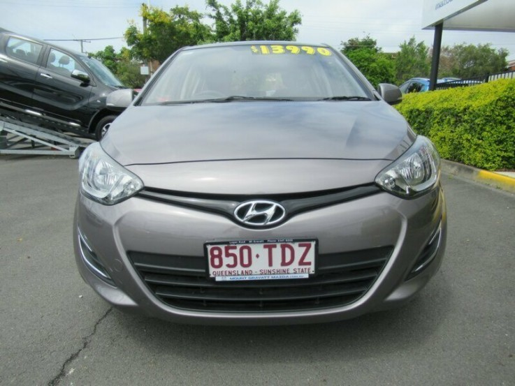 2013 HYUNDAI I20 ACTIVE HATCHBACK (GREY)