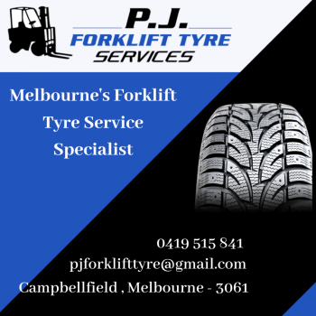 Solid Forklift Tyre Replacement