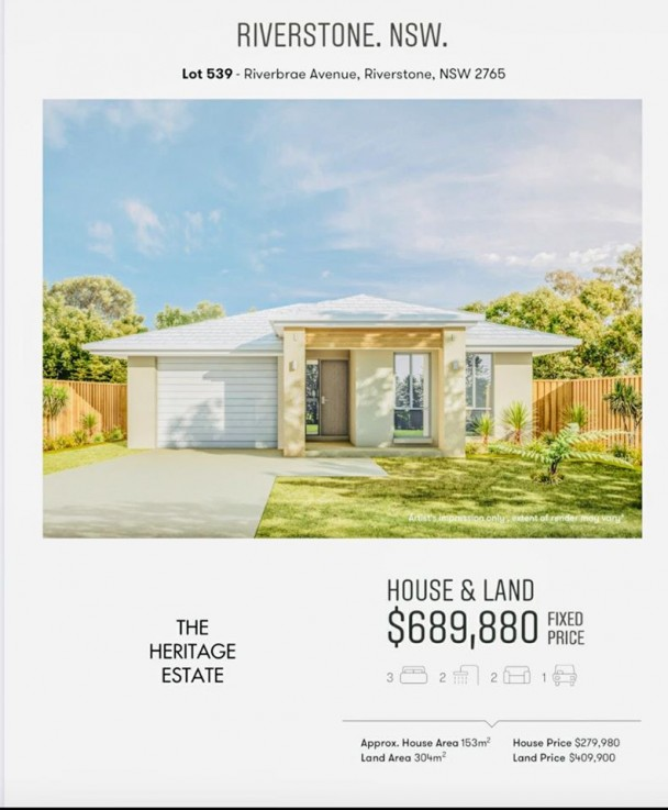 Brand New House and Land