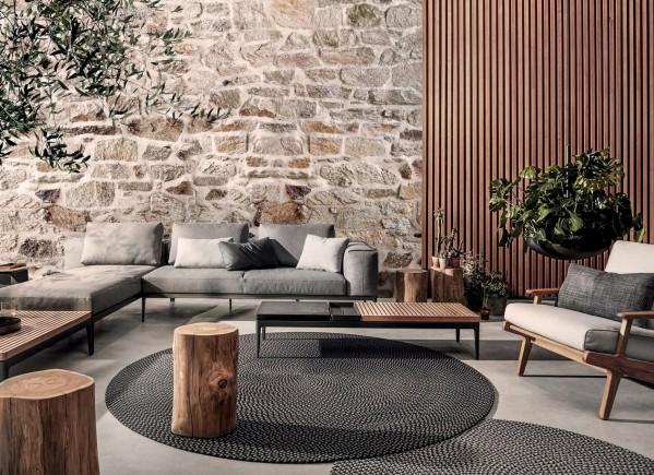 Deco Round Outdoor Rugs Gloster Designer