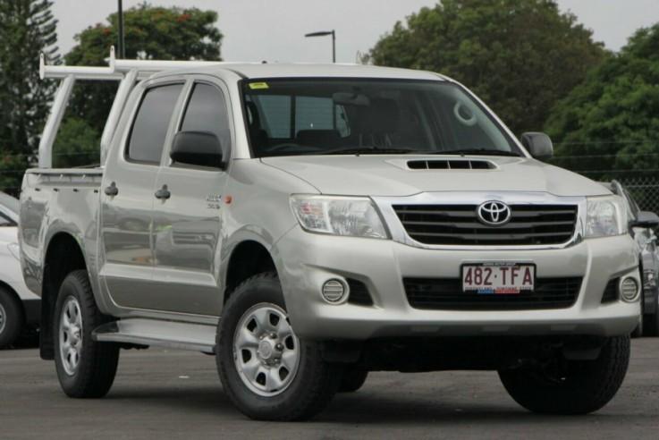 2013 Toyota Hilux SR Double Cab