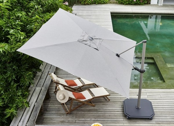 Caractere Side Pole Umbrella by Jardinic