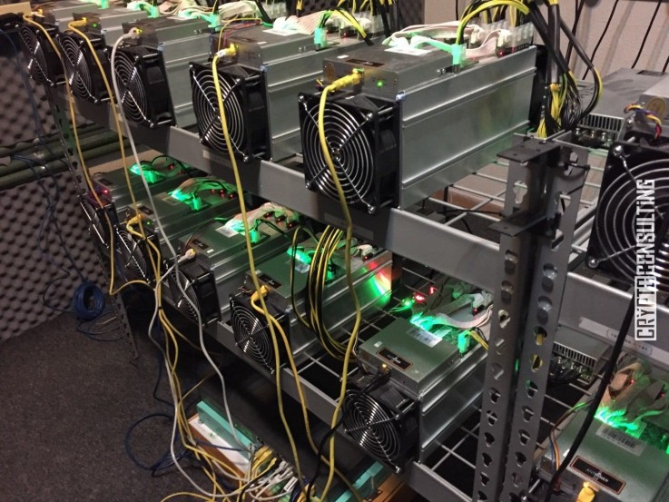 Bitmain S9 Antminer 13.5TH/s with Power
