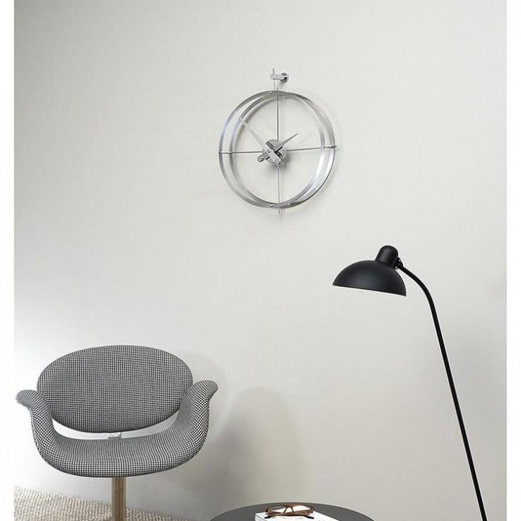 2 Puntos Wall Clock by Nomon