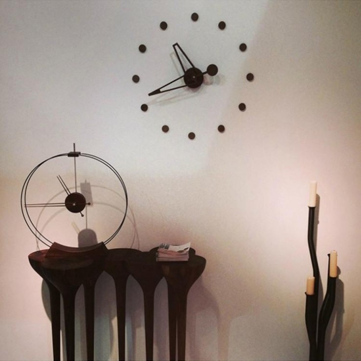 Aire Table Clock by Nomon