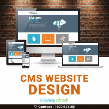 How Does a CMS Website Design work?