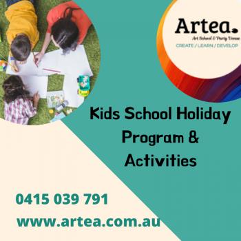 Kids School Holiday Program & Activities