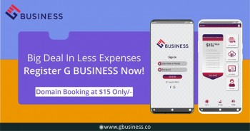 Book your domain now with gbusiness