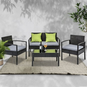 4 SEATER SOFA SET OUTDOOR FURNITURE