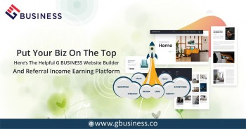 G Business free website builder platform and increase the exposure of your online business.